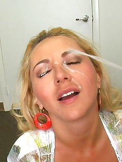 Blonde big tits masturbation