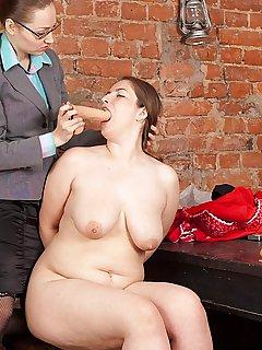 Chubby secretary naked #13