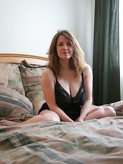 Naked wifes blonde with long hair