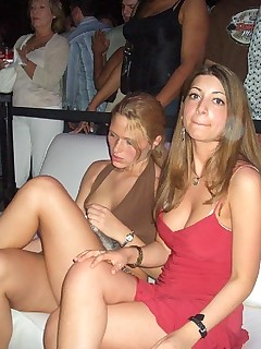 Party upskirt wild